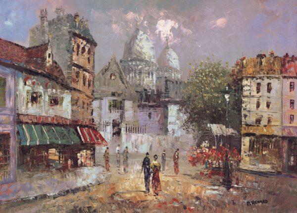 SO-70287 - Paris, Montmartre - P. Renard