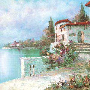 SO-70365 - Borgo in riva al mare - A. Dubac
