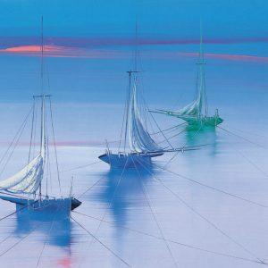 SO-70509 - Barche all'ormeggio - Boldini