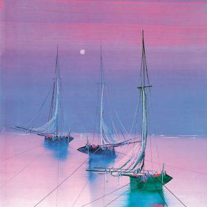 SO-70510 - Barche all'ormeggio - Boldini