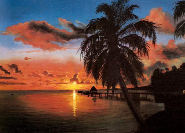 SO-70697 - Palme nel tramonto - L. Marquez