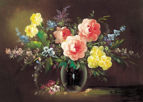 SO-70772 - VaSO-di fiori con rose - R. Renon