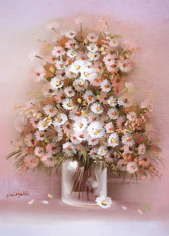 SO-70779 - VaSO-di fiori con margherite - Sinisgalli