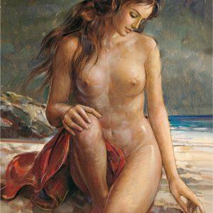 SO-70823 - Nudo sulla riva - Crespi