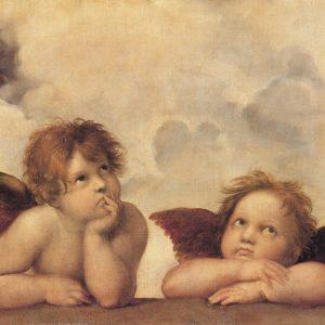 SO-70836 - Particolare Madonna Sistina - Raffaello Sanzio