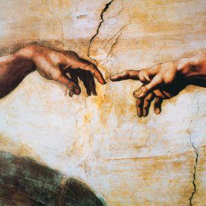 """SO-70869 - Part. Da """"La Creazione di Adamo"""" Cappella Sistina, Roma - Michelangelo"""