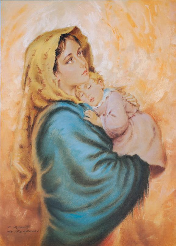 SO-70964 - La Madonna del RipoSO-- C. Parisi (da Ferruzzi)