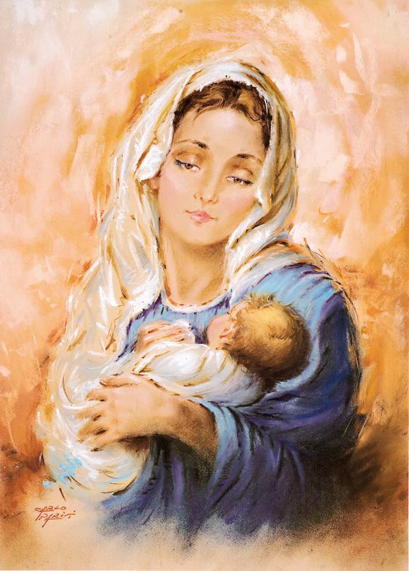 SO-70965 - Maternità in blu - C. Parisi