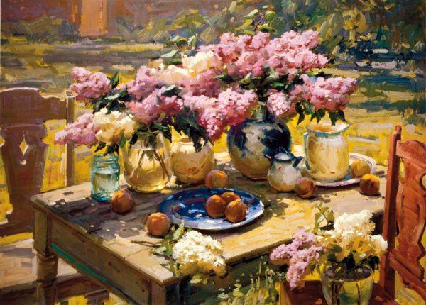 SO-71093 - VaSO-di fiori con giacinti - O. Berberian
