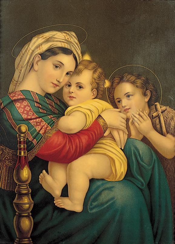 SO-71209 - La Madonna della seggiola - R. Sanzio