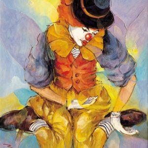 SO-71221 - Clown seduto - Biraghi