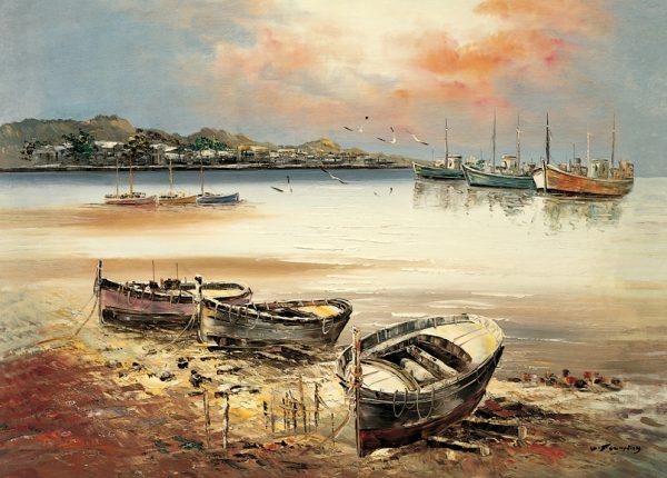 SO-71246 - Barche in secca - G. Fleming