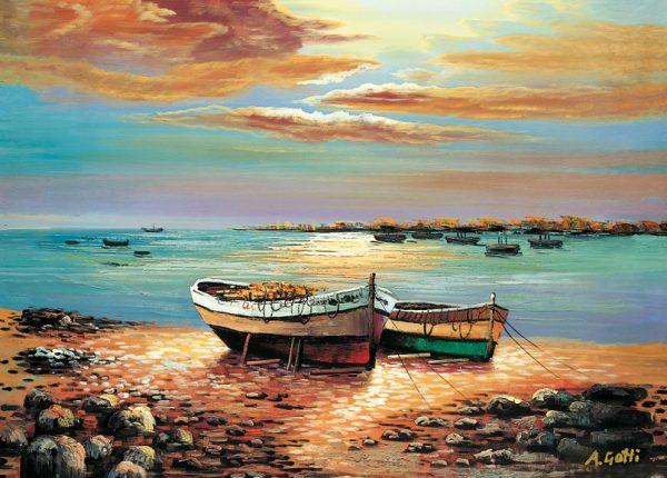 SO-71598 - Barche a riva - A. Gotti