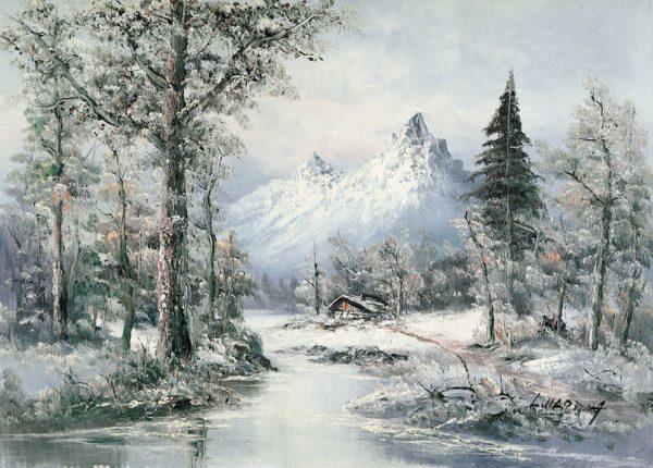 SO-73132 - Inverno nella pianura - L. Harding
