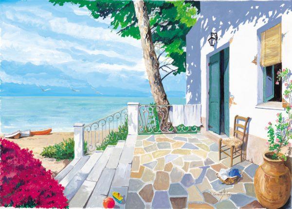 SO-73163 - Terrazza sulla spiaggia - B. Cerutti Felugo