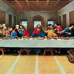 SO-73184 - L'ultima cena, copia da Leonardo di autore anonimo.