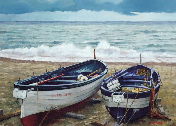 SO-73188 - Barche in secca - G. Sironi