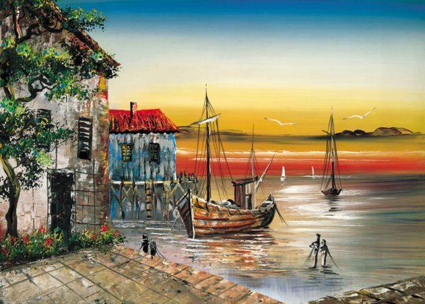 SO-73316-R - Barca ormeggiata - L. Corsari