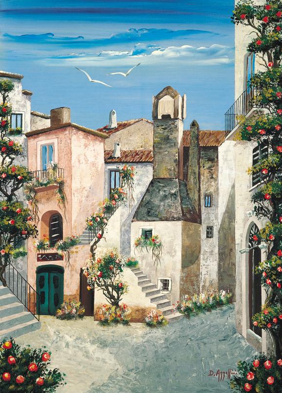 SO-73319-R - Borgo mediterraneo - D. Azzellini