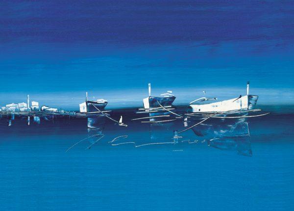 SO-73334 - Barche in rosSO-- I. Celic