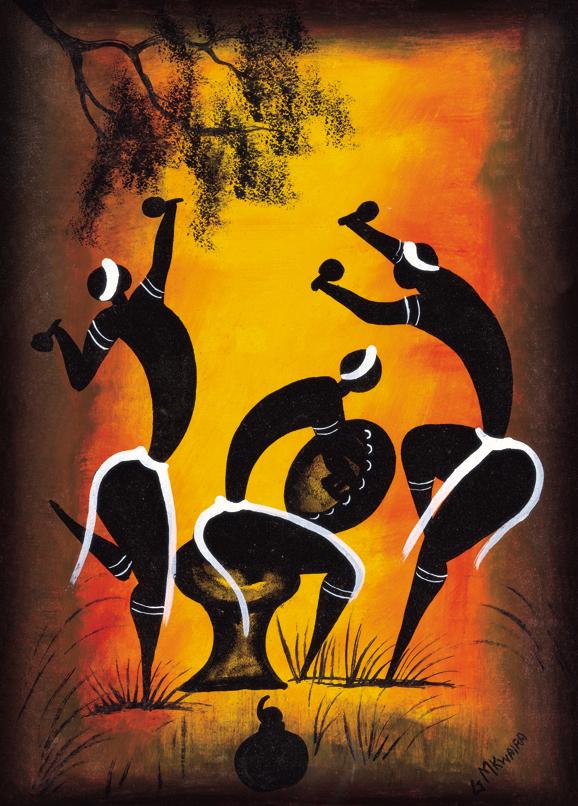 SO-73383 - Danza rituale - G. Mkwaira