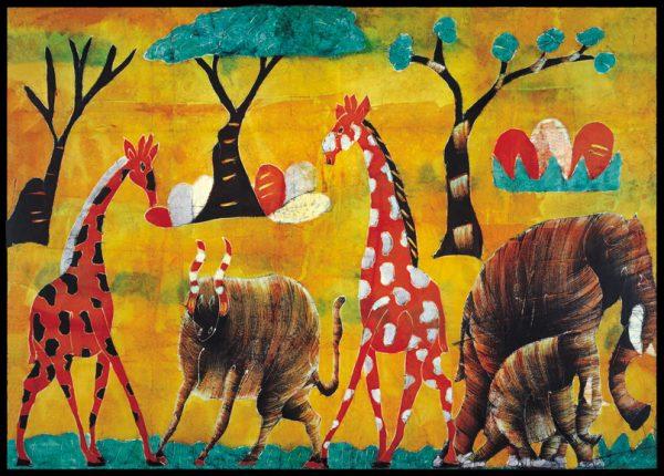SO-73395 - Nella savana - Kamau
