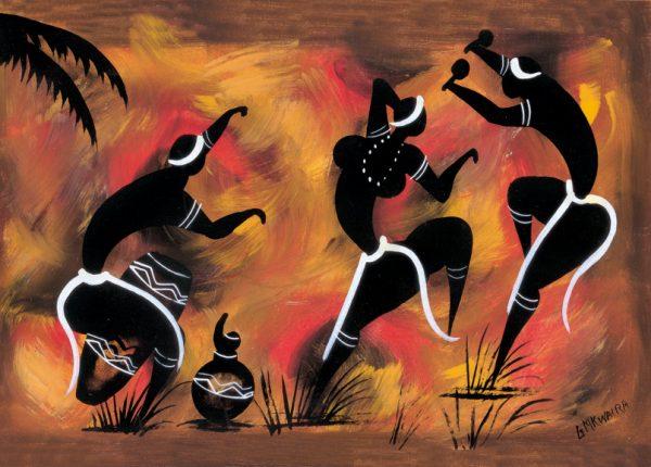 SO-73454 - Danza rituale I°- G. Mkwaira