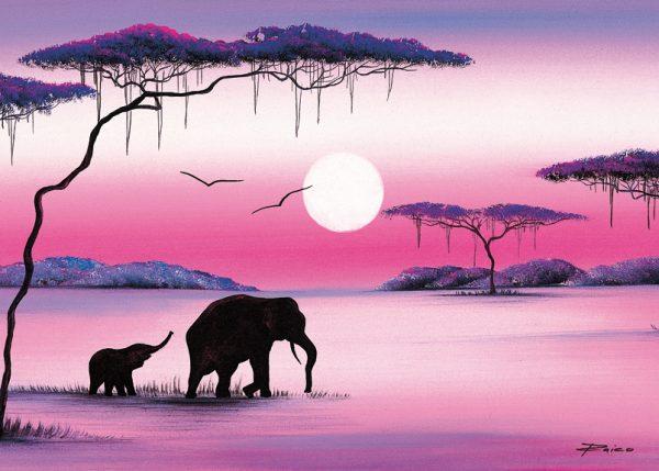 SO-73472 - Elefanti al fiume - Rajco