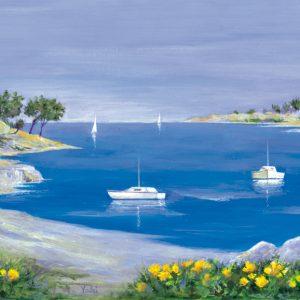 SO-73513 - Barche nell'insenatura - Valzi