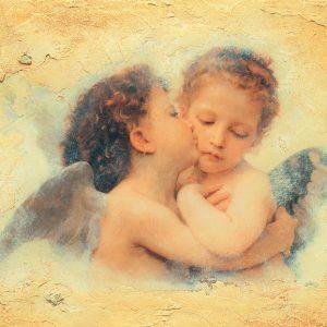 "SO-73527 - ""Amore e Psiche"" da W. Bouguereau - C. Furlan"
