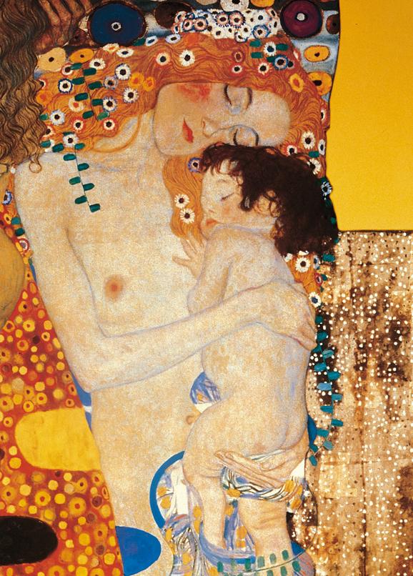 SO-73534 - Le Tre Età della Donna, particolare - G. Klimt
