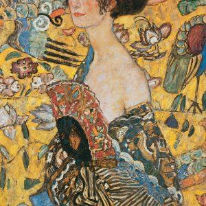 SO-73542 - Dama con ventaglio - G. Klimt
