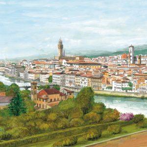 SO-73552 - Firenze e l'Arno - B. Cerutti Felugo