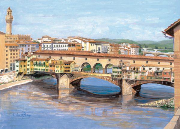 SO-73553 - Firenze, il Ponte Vecchio - B. Cerutti Felugo