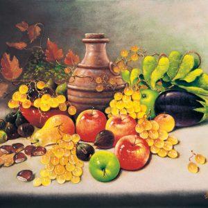 SO-73556 Natura morta con frutta - A.B. Seresini