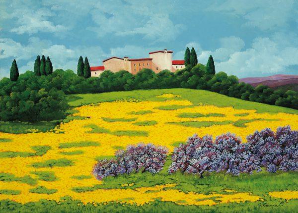 SO-73558 - Prato con fiori gialli - G. Canali