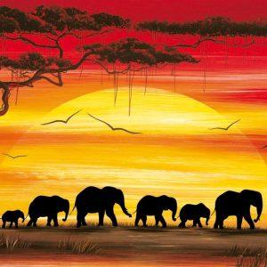 SO-73608 - Elefanti in marcia - Rajco