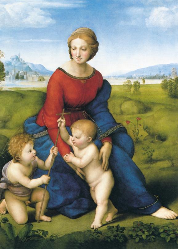 SO-73619 - La Madonna del Belvedere - R. Sanzio