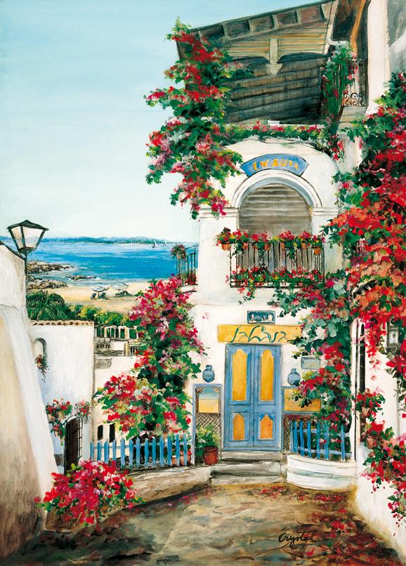 SO-73678 - Egeo: borgo isolano - Crystal
