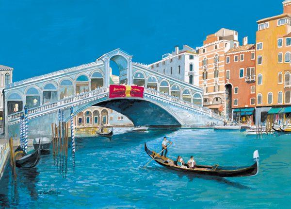 SO-73723 - Venezia, il Ponte di Rialto - B. Cerutti Felugo