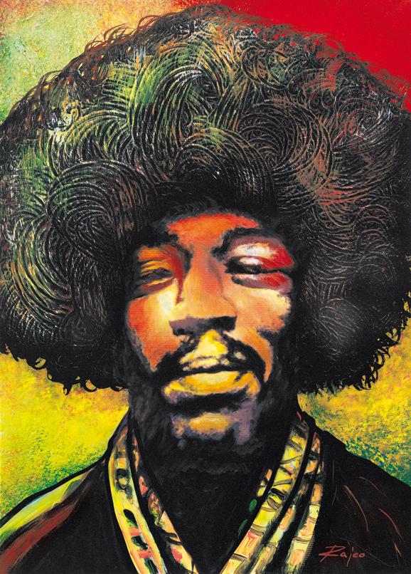 SO-73788 Jimi Hendrix - Rajco