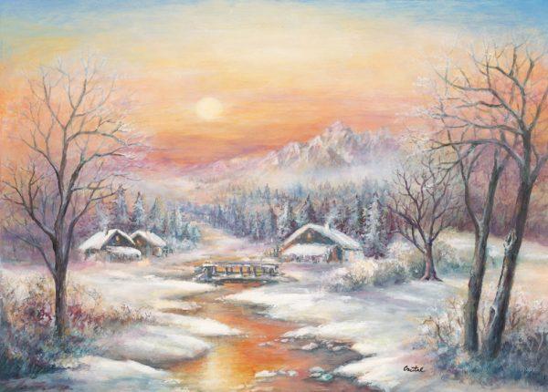 SO-73807 - Paesaggio invernale - Crystal