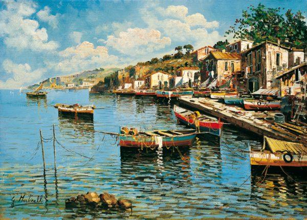 SO-73836 - Barche ormeggiate - G. Martinelli