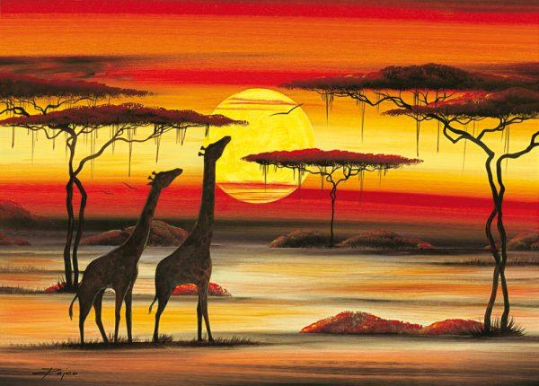 SO-73871 - Giraffe nella savana - Rajco