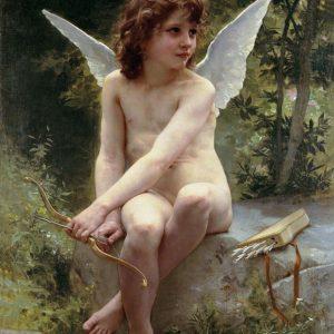 SO-74017 - L'Amour A L'affut - W. Bouguereau