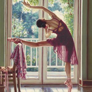 SO-74077 - Ballerina con finestra sul giardino - Rajco