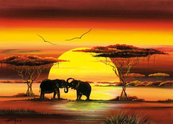 SO-74092 - Duello tra elefanti - Rajco