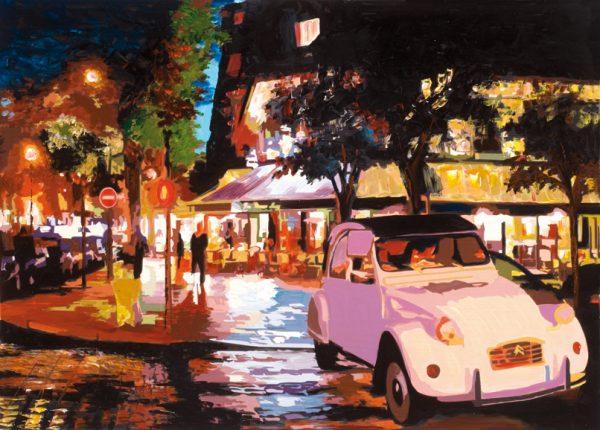 SO-74155 - Scorcio di Parigi di notte - Rajco