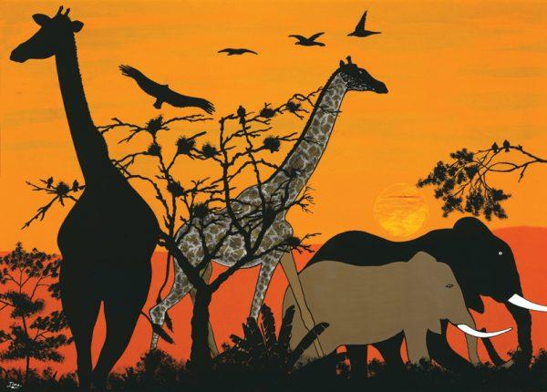 SO-74182 - Fauna tropicale - Timo