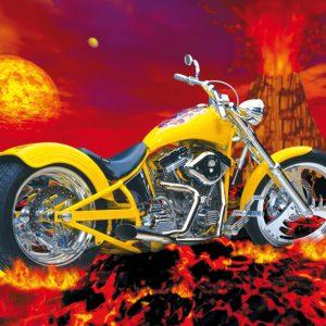 SO-74195 - Moto gialla - G. Smith